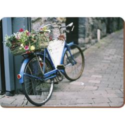 Parafa tányéralátét 4 db - Vintage bicikli