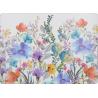 Parafa tányéralátét 4 db - Színes virágos