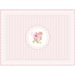 Parafa tányéralátét 4 db - Rózsás