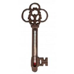 Öntöttvas fali hőmérő Kulcs
